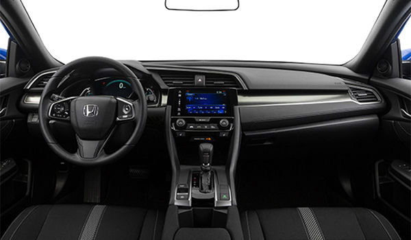 2018 Honda Civic hatchback LX | Photo 3 | Black Fabric