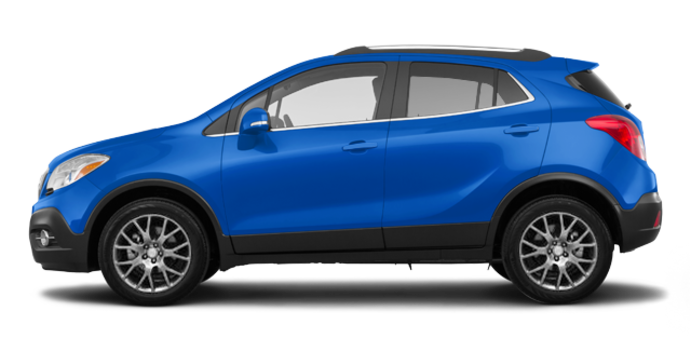 2016 Buick Encore SPORT TOURING | Photo 4 | Coastal Blue Metallic