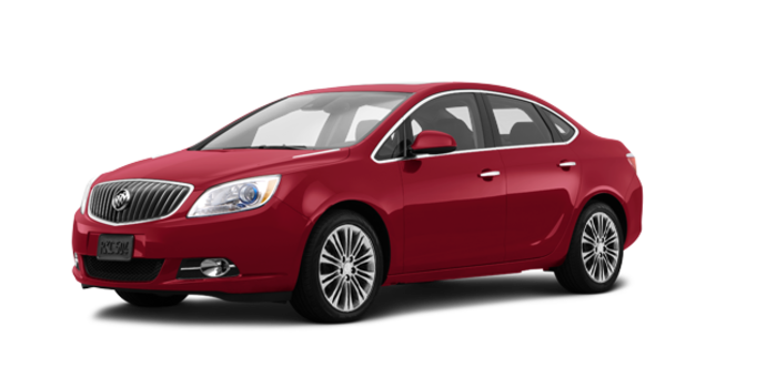2016 Buick Verano LEATHER | Photo 6 | Crystal Red Tintcoat