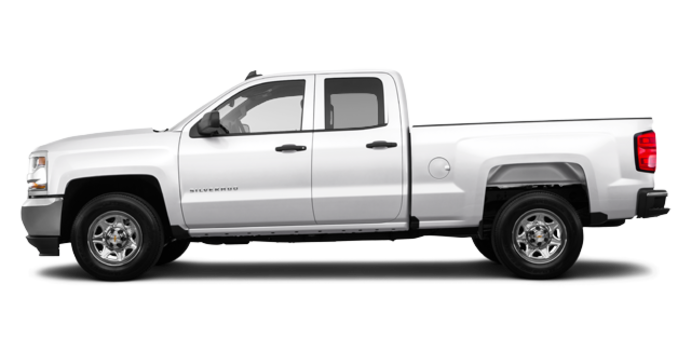 2016 Chevrolet Silverado 1500 WT | Photo 4 | Summit White
