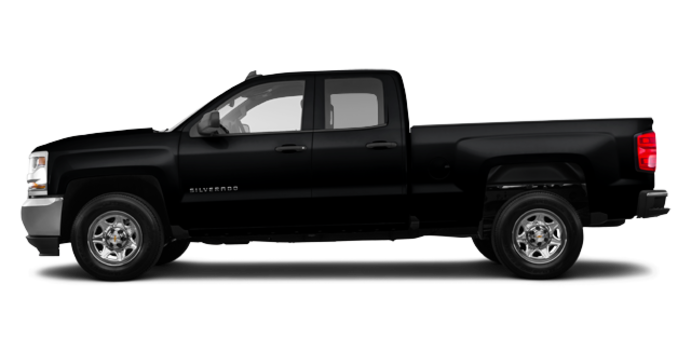 2016 Chevrolet Silverado 1500 WT | Photo 4 | Black