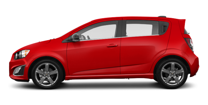 2016 Chevrolet Sonic Hatchback RS | Photo 4 | Red Hot