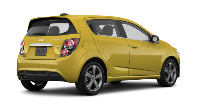 2016 Chevrolet Sonic Hatchback RS | Photo 5 | Bright Yellow