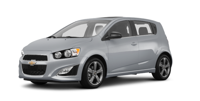 2016 Chevrolet Sonic Hatchback RS | Photo 6 | Silver Ice Metallic