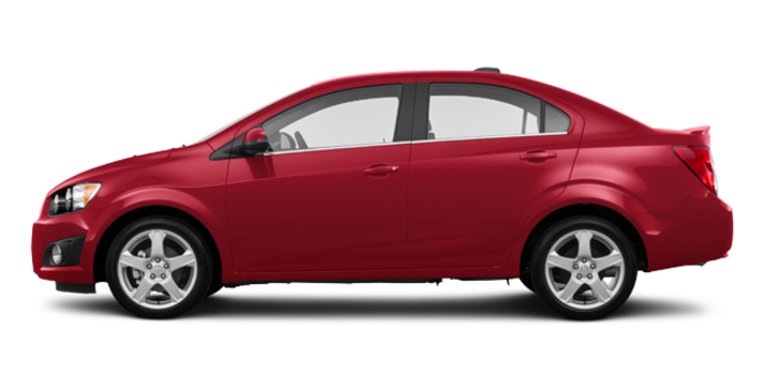 2016 Chevrolet Sonic LT | Photo 4 | Crystal Red