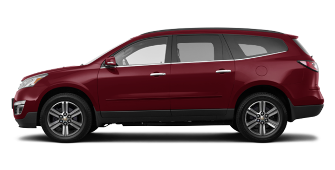 2016 Chevrolet Traverse 2LT | Photo 4 | Siren Red