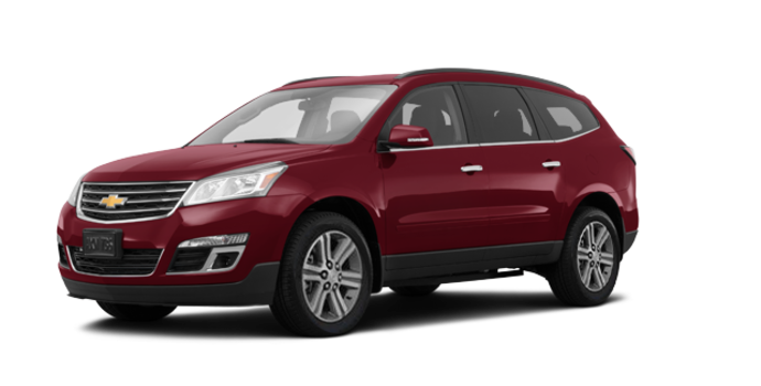 2016 Chevrolet Traverse 2LT | Photo 6 | Siren Red