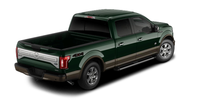 2016 Ford F-150 KING RANCH | Photo 5 | Green Gem/Caribou