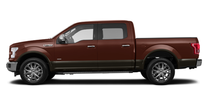 2016 Ford F-150 LARIAT | Photo 4 | Bronze Fire/Caribou