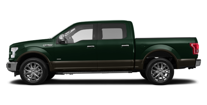 2016 Ford F-150 LARIAT | Photo 4 | Green Gem/Caribou