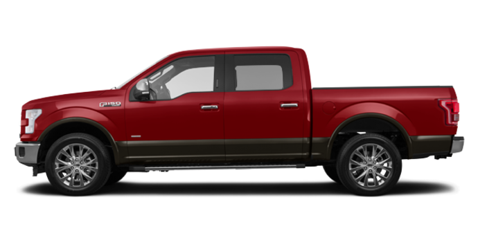 2016 Ford F-150 LARIAT | Photo 4 | Ruby Red/Caribou