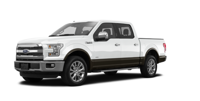 2016 Ford F-150 LARIAT | Photo 6 | Oxford White/Caribou