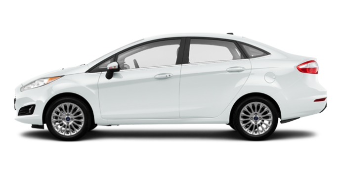 2016 Ford Fiesta TITANIUM SEDAN | Photo 4 | White Platinum