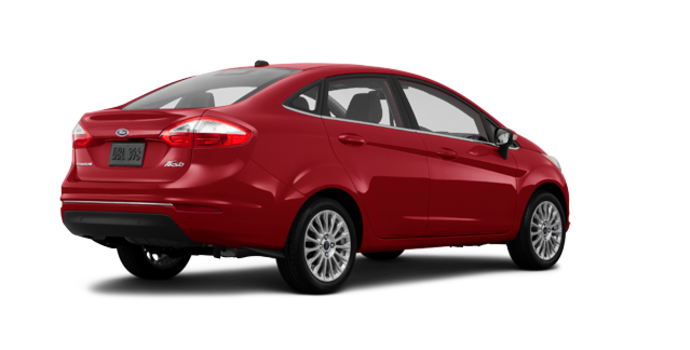 2016 Ford Fiesta TITANIUM SEDAN | Photo 5 | Ruby Red