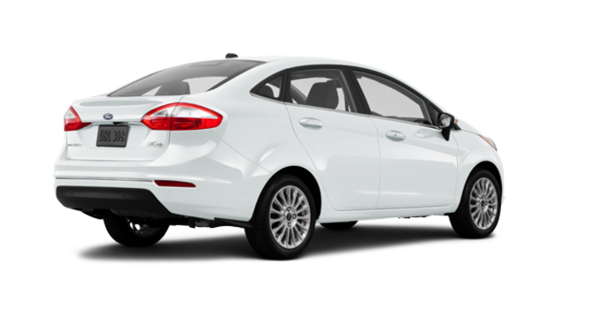 2016 Ford Fiesta TITANIUM SEDAN | Photo 5 | White Platinum