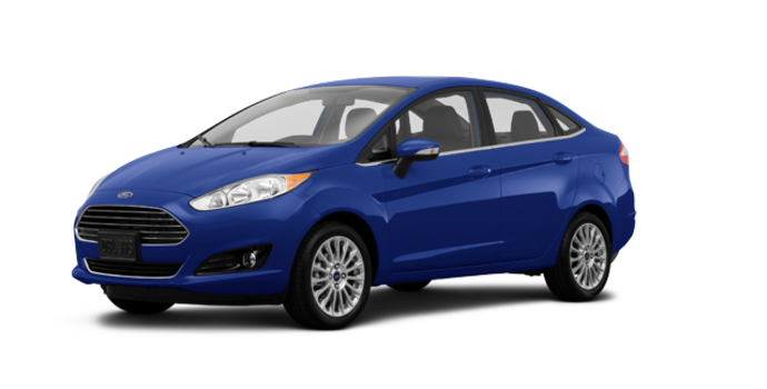 2016 Ford Fiesta TITANIUM SEDAN | Photo 6 | Kona Blue