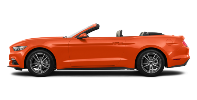 2016 Ford Mustang Convertible EcoBoost Premium | Photo 4 | Competition Orange