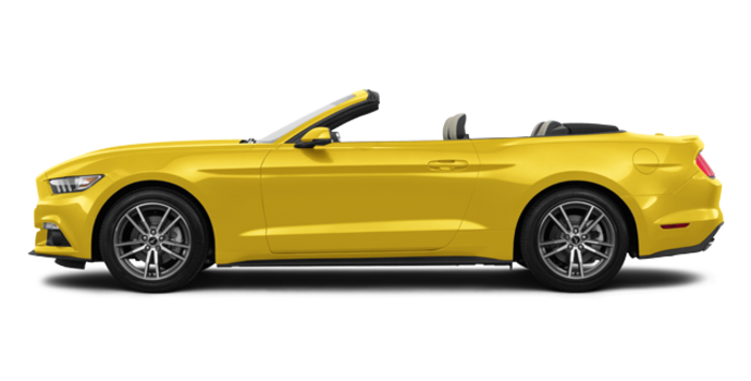 2016 Ford Mustang Convertible EcoBoost Premium | Photo 4 | Triple Yellow