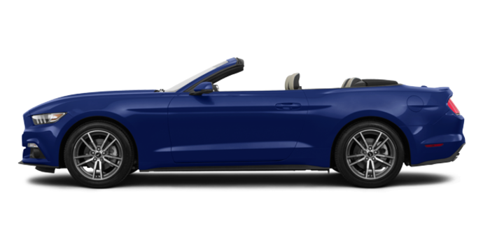 2016 Ford Mustang Convertible EcoBoost Premium | Photo 4 | Deep Impact Blue