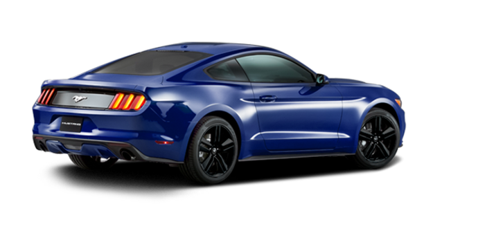 2016 Ford Mustang EcoBoost Premium | Photo 5 | Deep Impact Blue