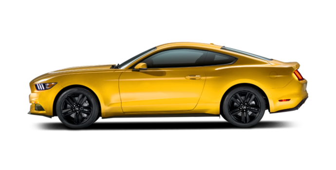 2016 Ford Mustang EcoBoost Premium | Photo 4 | Triple Yellow