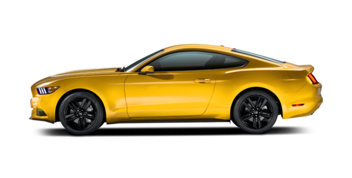 2016 Ford Mustang EcoBoost | Photo 4 | Triple Yellow