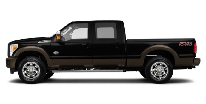 2016 Ford Super Duty F-250 KING RANCH | Photo 4 | Shadow Black / Caribou