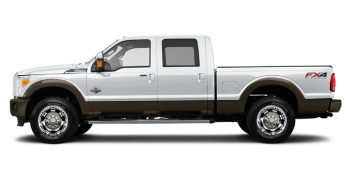 2016 Ford Super Duty F-250 KING RANCH | Photo 4 | Oxford White / Caribou