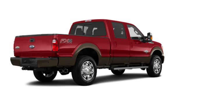 2016 Ford Super Duty F-250 KING RANCH | Photo 5 | Ruby Red / Caribou