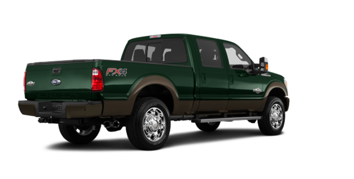 2016 Ford Super Duty F-250 KING RANCH | Photo 5 | Green Gem / Caribou