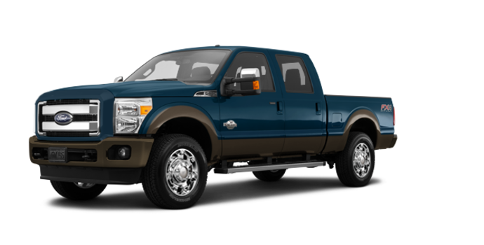 2016 Ford Super Duty F-250 KING RANCH | Photo 6 | Blue Jeans / Caribou
