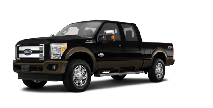 2016 Ford Super Duty F-250 KING RANCH | Photo 6 | Shadow Black / Caribou