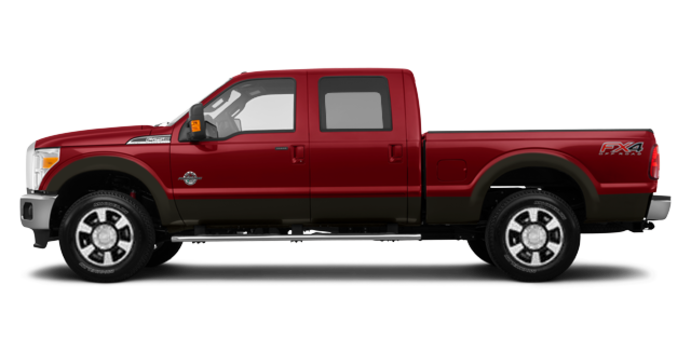 2016 Ford Super Duty F-250 LARIAT | Photo 4 | Ruby Red / Caribou
