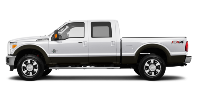 2016 Ford Super Duty F-250 LARIAT | Photo 4 | White Platinum / Caribou