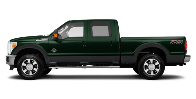 2016 Ford Super Duty F-250 LARIAT | Photo 4 | Green Gem / Magnetic