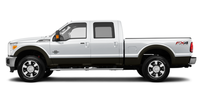 2016 Ford Super Duty F-250 LARIAT | Photo 4 | Oxford White / Caribou