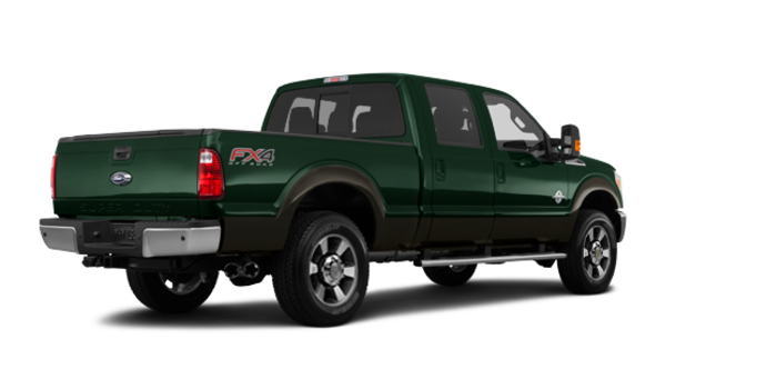 2016 Ford Super Duty F-250 LARIAT | Photo 5 | Green Gem / Caribou