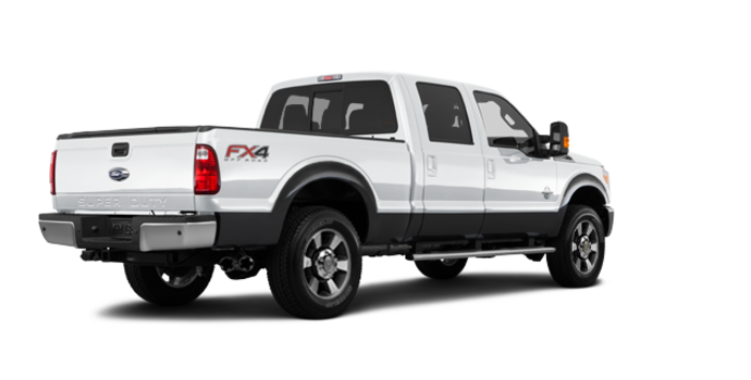 2016 Ford Super Duty F-250 LARIAT | Photo 5 | Oxford White / Magnetic