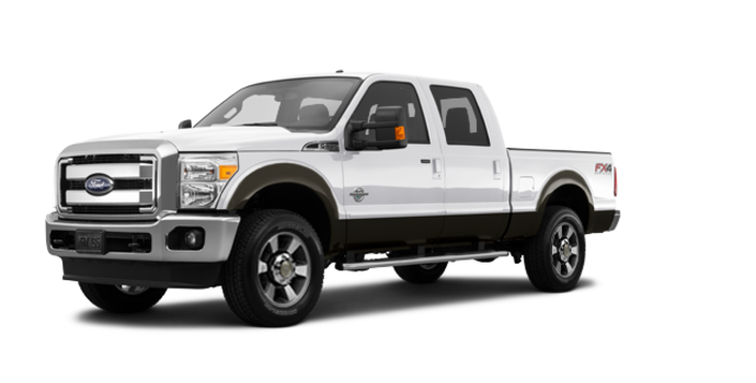 2016 Ford Super Duty F-250 LARIAT | Photo 6 | White Platinum / Caribou