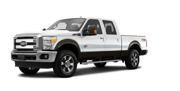 2016 Ford Super Duty F-250 LARIAT | Photo 6 | Oxford White / Caribou