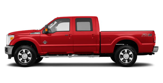 2016 Ford Super Duty F-350 LARIAT | Photo 4 | Race Red