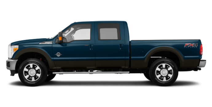 2016 Ford Super Duty F-350 LARIAT | Photo 4 | Blue Jeans / Caribou