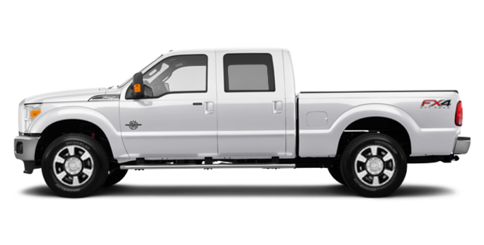2016 Ford Super Duty F-350 LARIAT | Photo 4 | White Platinum