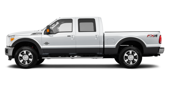 2016 Ford Super Duty F-350 LARIAT | Photo 4 | Oxford White / Magnetic