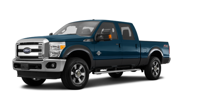 2016 Ford Super Duty F-350 LARIAT | Photo 6 | Blue Jeans / Magnetic