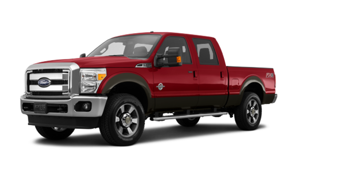 2016 Ford Super Duty F-350 LARIAT | Photo 6 | Ruby Red / Caribou