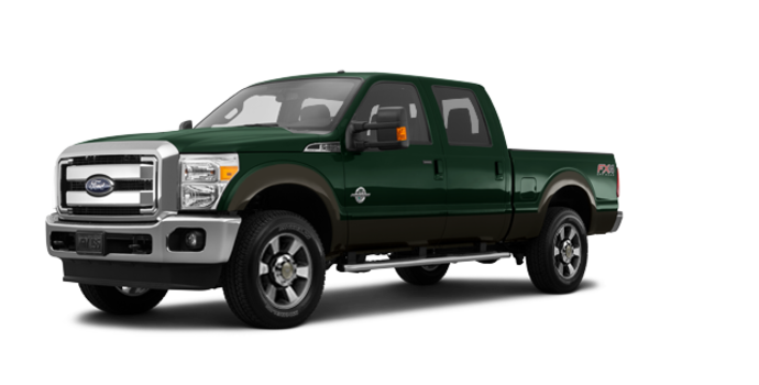 2016 Ford Super Duty F-350 LARIAT | Photo 6 | Green Gem / Caribou