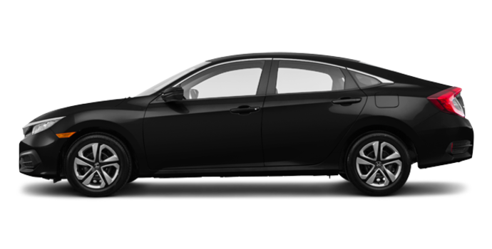 2016 Honda Civic Sedan DX | Photo 4 | Crystal Black Pearl