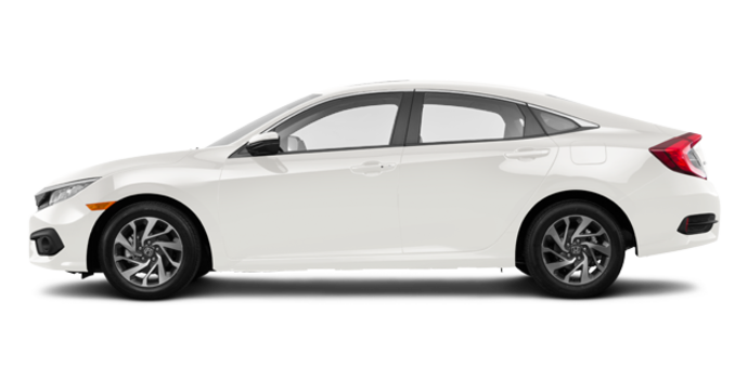 2016 Honda Civic Sedan EX-SENSING | Photo 4 | White Orchard Pearl