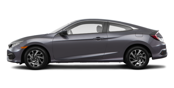 2016 Honda Civic Coupe LX-SENSING | Photo 4 | Modern Steel Metallic